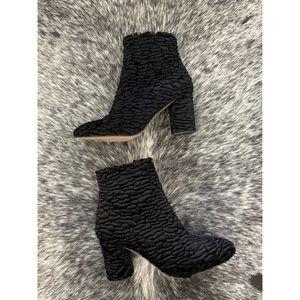 ZARA Faux Persian Lamb Fur Boots Size 40 US 9